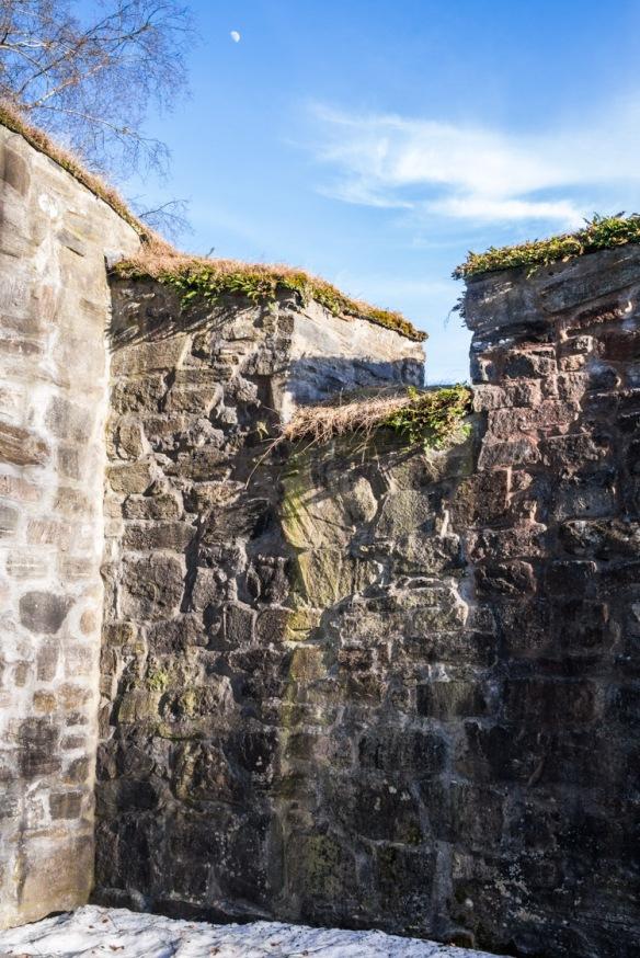 Detalj fra muren