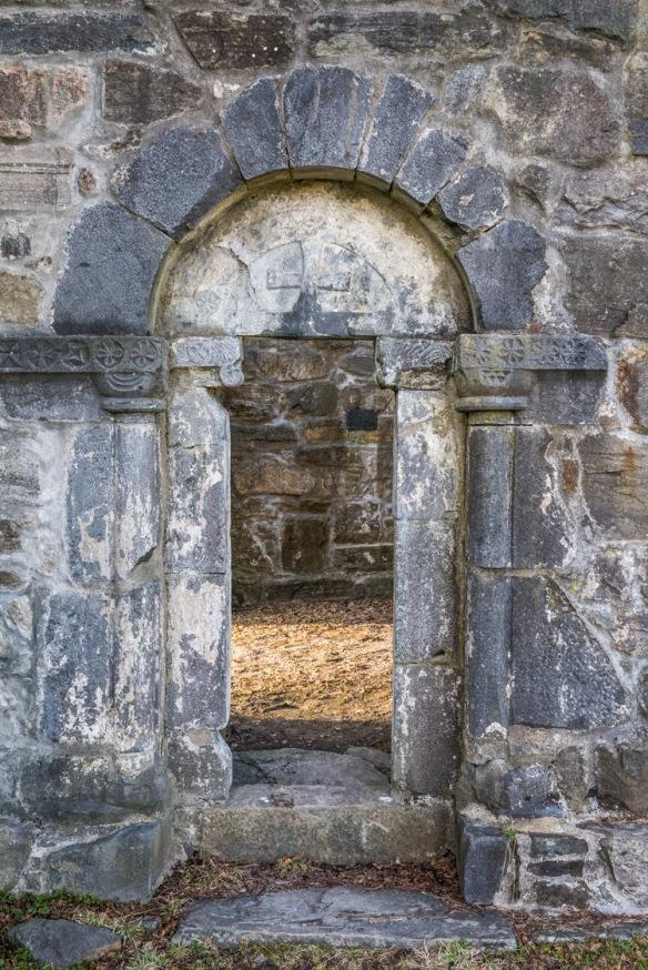 Den andre portalen på sørsiden