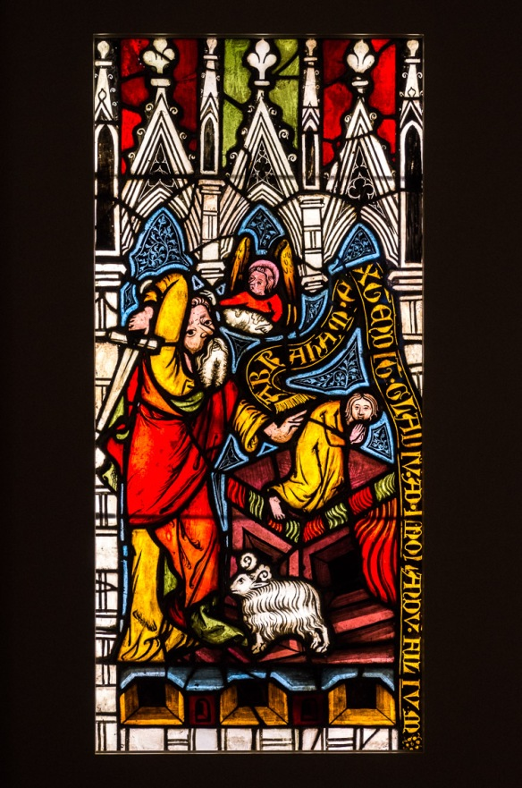 Abraham ofrer Isak